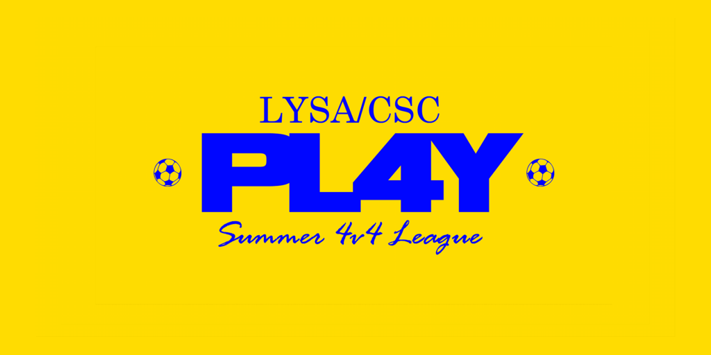 2019 PL4Y Summer League is now OPEN!
